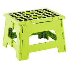 Lime Easy Folding Step Stool ...