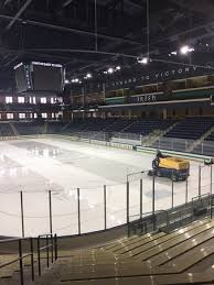 We Got To Play On Notre Dames Ice For One Of Our Tournament
