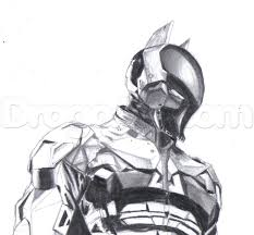Small Picture Batman Arkham Knight Drawing Step By StepArkhamPrintable