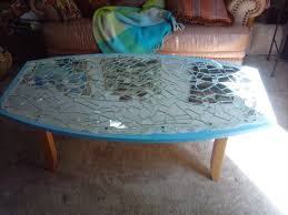 ... Coffee Table, Shattered Glass Coffee Table Furniture Inspiration Ideas  Simple And Neat Look Rare Vintage ...