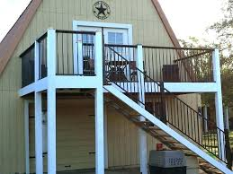 outdoor stair railings deck railing kits stairs rustic ideas canada simple