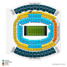 Tiaa Bank Field Seating Chart With Rows And Seat Numbers Taxslayer Gator Bowl Tickets 2020 Game In Jacksonville