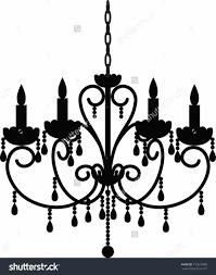 chandelier clipart elegant chandelier