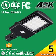 best selling and most popular lights street of 2016 alibaba com aok 265wit outdoor photocell ul dlc 1000 watt replacement led parking lot <strong>