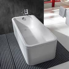 roca 1800 x 800mm element one piece freestanding bath and panel 248158001