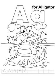 Small Picture A is for Ant Coloring Page from TwistyNoodlecom Kids printables