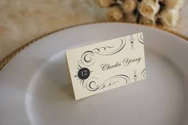 wedding table cards template free printable place cards the budget savvy bride