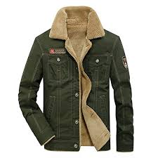 fereshte men s winter thick warm military jacket parka fur fleece lined outdoor coat b0767lf1d4