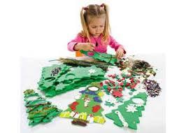 Christmas Kidsu0027 Craft Yarn Ball Ornaments  HGTVFoam Christmas Tree Crafts
