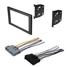 car radio stereo radio kit dash installation mounting trim w wiring harness for ford mustang Car Stereo Wiring Harness Connectors at Wiring Harness For Car Stereo Walmart