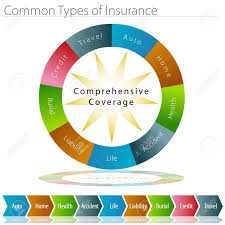 Insurance Chart An Image Of A Common Types Of Insurance Chart