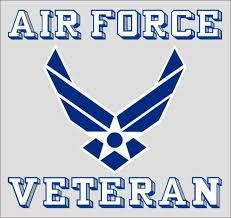 air force veteran wing decal us air