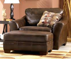 brown leather chair with ottoman excellent living room awesome chair ottoman set modern with brown leather
