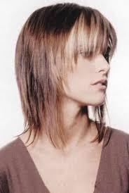 Fotogalerie A Fotky Polodlouhé účesy Blond Vlasy Všechny účesy