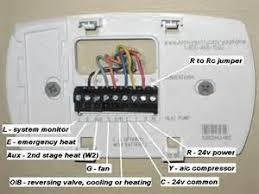 honeywell thermostat rth221 wiring diagram efcaviation com how to install honeywell thermostat with only 2 wires at Honeywell Thermostat Rth2300 Wiring Diagram