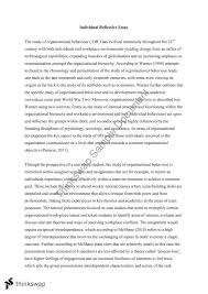 Managing Diversity Individual Reflection Paper Essay