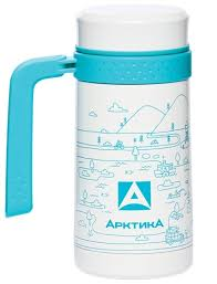 Купить <b>Термокружка Арктика</b> 412-500 (0,5 <b>л</b>) белый по низкой ...