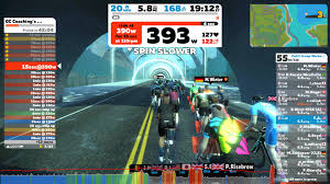 just like zwift structured workouts you will see your target watts for each segment and cues to increase watts or cadence