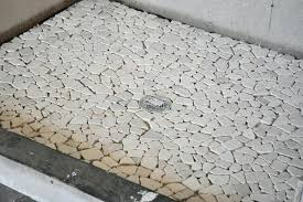 pebble tile shower floor problems pebble stone shower floor design ideas interior river tile showers pan