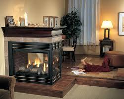 panorama 3 sided wood burning fireplace glass