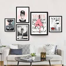 vogue posters fashion wall art chanel