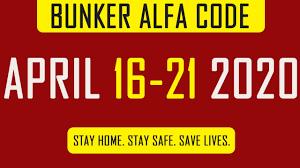LDOE: Bunker Alfa Code April 16 -21 2020 Last Day On Earth Survival -  YouTube