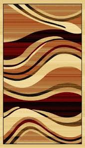 modern waves cream area rug black ivory brown wave stripes cream border abstract room size rug marqui