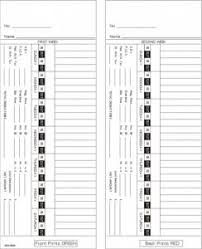 weekly time card card amano 5400 bi weekly double sided timecard ama5400 box of 1000
