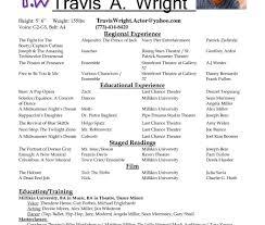 Bistrun Theatre Resume Example Examples Of Resumes Film Resume