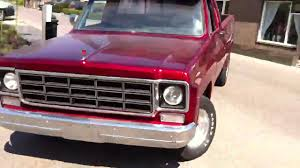 1977 chevy c10 - big10 - YouTube