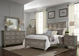Driftwood Bedroom Furniture 4 Piece Grayton Grove Panel Bedroom Set In Driftwood