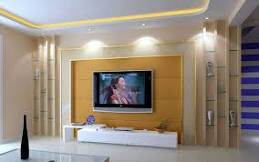 living room led background wall design plywood tv unit cartoon for photo empty living room