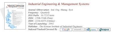 Industrial Engineering Management Systems