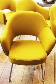 eero saarinen chair designs. yellow vintage eero saarinen chairs - hudson river chair designs