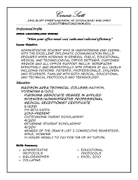 What To Put In Professional Profile On Resume Professional Profile Resume