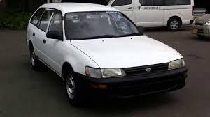 Toyota Corolla van DX sold to Myanamr - YouTube