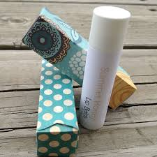 quick tip make pretty lip balm packaging using spare card paper crafts diy tuts tutorials