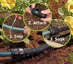 garden drip system. Exellent Garden How SnipnDrip Works And Garden Drip System P