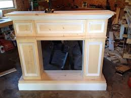 DIY For In Front Of The Fire Place So We Will Have A Mantle Diy How To Build A Faux Fireplace