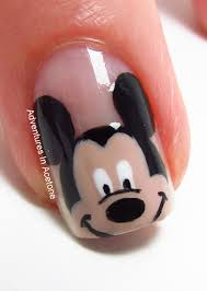 Mickey Mouse Nail Design Step By Step ~ Disney mickey mouse ...