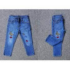 Quần áo trẻ em - SockiMall - Quần jean dài bé gái mềm mịn, thêu bướm. –  SockiMall - Thời trang Gia đình & Trẻ em
