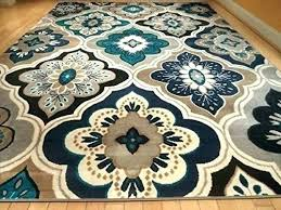 turquoise area rug navy blue rugs on 5x7 furniture mall singapore review cozy