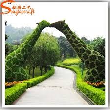 garden photo frames. Factory Customize Artificial Plastic Garden Topiary Frames Photo R