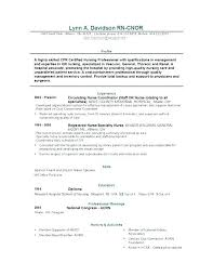 Examples Of Rn Resume – Resume Sample Directory
