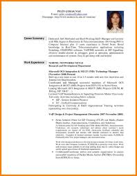 How To Write A Professional Summary On Resume Resume Work Template