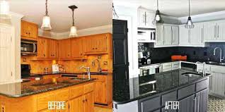 image of refacing kitchen cabinets before and after