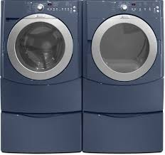 blue washer and dryer. Delighful Blue Maytag Epic Series MED9800TK  Washer And Dryer Pair Intended Blue And L