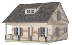 Small Picture 1100 Sq Ft Country Cottage Cabin Small Home Plans Blueprints