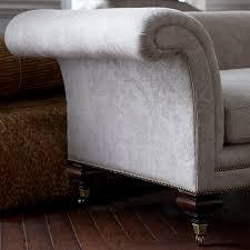 traditional sofa fabric 2 person gray