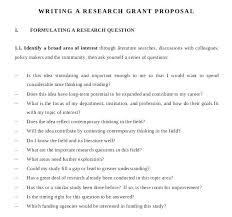 How To Write A Grant Template Grant Writing Template Free